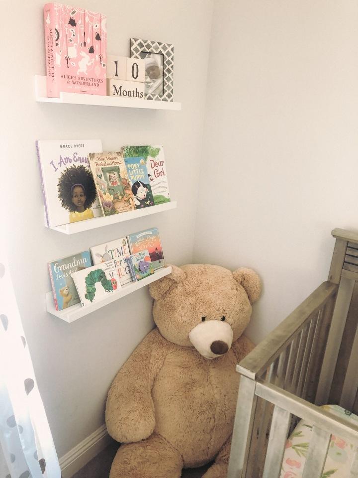 How to use IKEA Picture Ledge as BookShelf