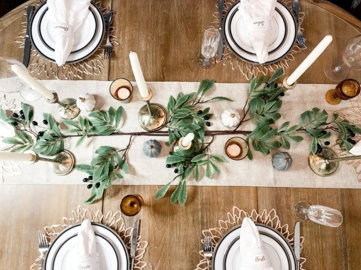 My Thanksgiving Table Design